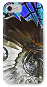 Glass Abstract 372 IPhone Case by Sarah Loft