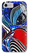 Glass Abstract 507 IPhone Case
