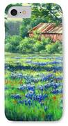 Glen Rose Bluebonnets IPhone Case