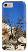 Gnarly Joshua Tree IPhone Case by Barbara Snyder