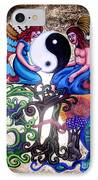 God And Gaia IPhone Case by Genevieve Esson