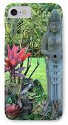 Goddess Bhudevi Mother Earth IPhone Case by Karon Melillo DeVega