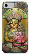 Goddess Durga IPhone Case by Pradip kumar  Paswan