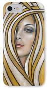 Golden Dream 060809 IPhone Case by Selena Boron