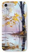 Golden Fall IPhone Case by Graham Gercken