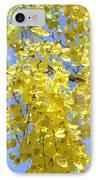 Golden Medallion Shower Tree IPhone Case