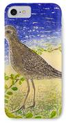 Golden Plover IPhone Case by Anna Skaradzinska