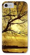 Golden Pond IPhone Case by Ann Powell