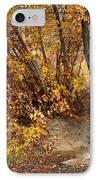 Golden Riverbank IPhone Case