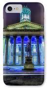 Goma Glasgow Lit Up IPhone Case by John Farnan
