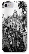 Gothic Cathedral Of Den Bosch IPhone Case by Carol Groenen