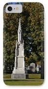Graceland Cemetery - Garden Of The Dead IPhone Case