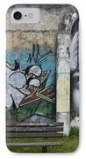 Graffiti Art Curitiba Brazil 1 IPhone Case by Bob Christopher