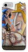 Graffiti Art Curitiba Brazil  19 IPhone Case