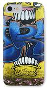 Graffiti Art Curitiba Brazil 7 IPhone Case by Bob Christopher