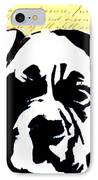 Graffiti Boxer IPhone Case by Ashley Reign