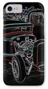 Graffiti Glow IPhone Case by Steve McKinzie