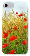 Grain And Poppy Field IPhone Case