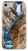 Grand Canyon Of Yellowstone IPhone Case by Bill Gallagher
