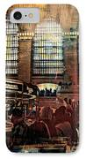 Grand Central Terminal 100 Years IPhone Case by Diana Angstadt