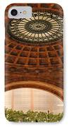 Grand Rotunda Pennsylvanian Pittsburgh IPhone Case by Amy Cicconi