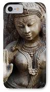Granite Indian Goddess IPhone Case by Tim Gainey