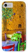 Greek Taverna IPhone Case by Eleni Mac Synodinos