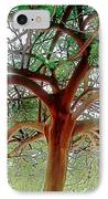Green Canopy IPhone Case by Terry Reynoldson