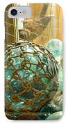 Green Glass Japanese Glass Floats IPhone Case by Artist and Photographer Laura Wrede
