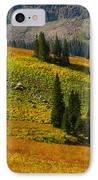 Green Mountain Trail IPhone Case by Raymond Salani III