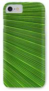 Green Palm Abstract IPhone Case
