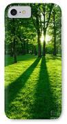 Green Park IPhone Case by Elena Elisseeva