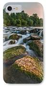 Green Rocks IPhone Case by Davorin Mance