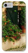 Green Shuttered Window IPhone Case by Lainie Wrightson