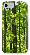 Green Spring Forest IPhone Case