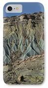 Grey Cliffs In Waterpocket Fold  IPhone Case