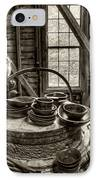 Grist Mill IPhone Case by Donnie Bagwell