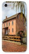 Grist Mill In Deep River County Park IPhone Case