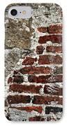 Grunge Brick Wall IPhone Case by Elena Elisseeva