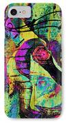 Guitar Improvisation IPhone Case by Catherine Harms