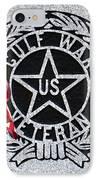 Gulf War Veteran Signage IPhone Case by Margaret Newcomb