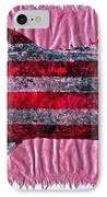 Gyotaku - American Spanish Mackerel - Flag IPhone Case