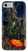 Halloween Spot IPhone Case by Mo T