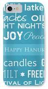 Hanukkah Fun IPhone Case by Linda Woods