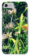 Happiness Is A Butterfly IPhone Case by Poetry and Art