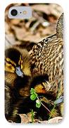 Happy Family IPhone Case by Frozen in Time Fine Art Photography