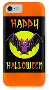 Happy Halloween Bat IPhone Case