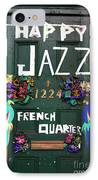 Happy Jazz IPhone Case by John Rizzuto