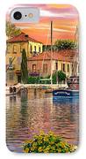 Harbour Sunset IPhone Case