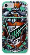 Harry Quinn IPhone Case by Mark Howard Jones
